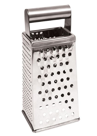 Appetito Stainless Steel 4 Sided Deluxe Grater