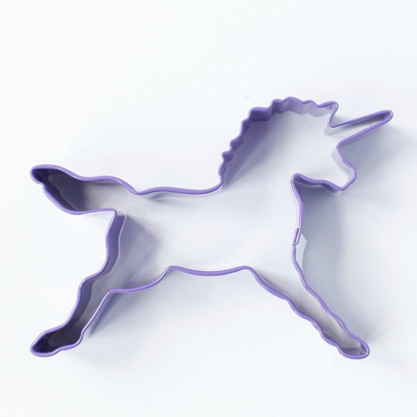 Cookie Cutter - Unicorn 11.5cm - Purple