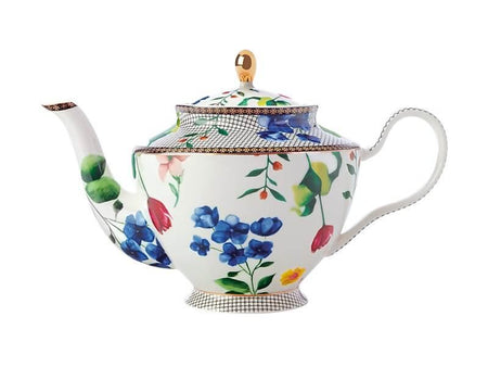 Maxwell & Williams Teas & C's Contessa Teapot with Infuser 1L - White