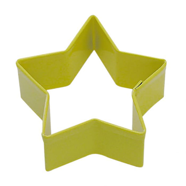 Cookie Cutter - Star 7cm - Yellow