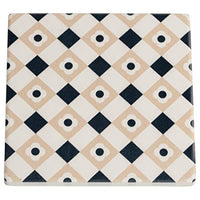 Maxwell & Williams Medina Ceramic Square Tile Coaster 9cm Zagora