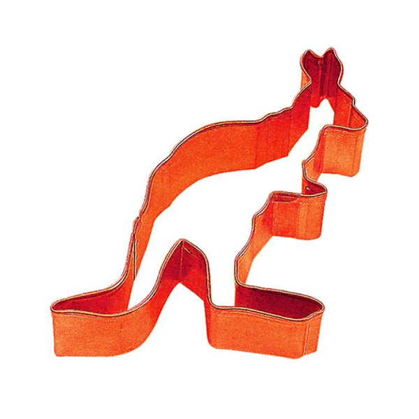 Cookie Cutter - Kangaroo 8cm - Orange