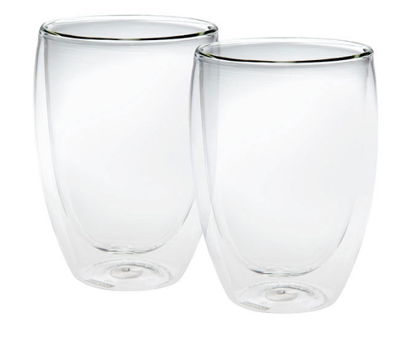 Bodum Pavina 2 Piece Glass Double Wall Medium 0.35L