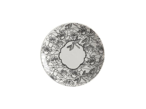 Maxwell & Williams Mindfulness Messages Paint-Your-Own Plate Dragonfly 19cm