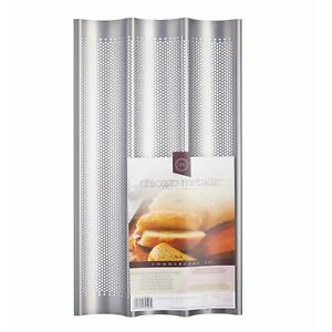 Chicago Metallic Non-Stick Perforated French Bread Baguette Pan