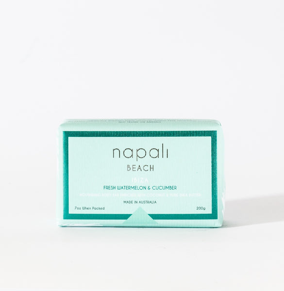 Napali Beach Ibiza, Fresh Watermelon & Cucumber Soap