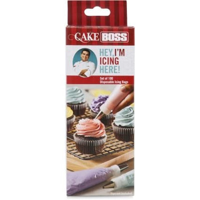 Cake Boss 100 Piece Disposable 30cm Icing Bags