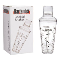 Bartender - Acrylic Cocktail Shaker - 750ml