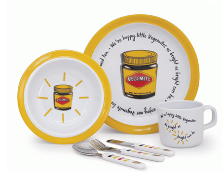 Salt & Pepper Vegemite Dinner Set of 6