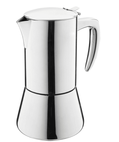 Casa Barista Modena 10 Cup Stainless Steel Espresso Maker