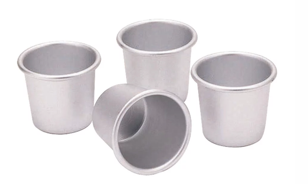 Kitchencraft Dariole Moulds Set of 4 100ml