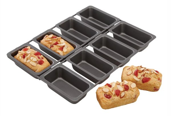 Chicago Metallic Specialty Linked Mini Loaf Pan