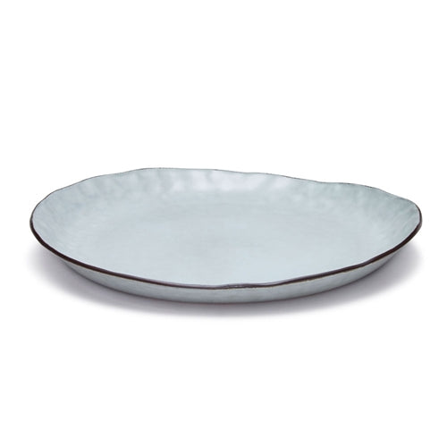 Salt & Pepper Nomad Plate - Grey 28cm