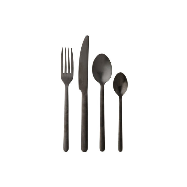 Maxwell & Williams Elemental Cutlery Set 16 Piece Pewter