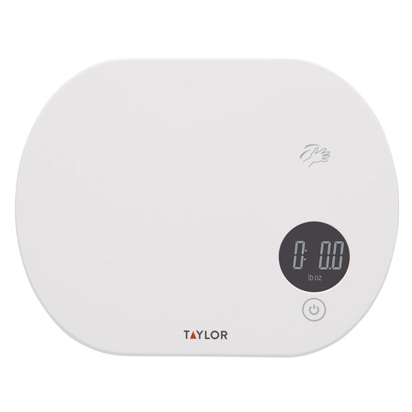 Taylor Digital Touchless Tare Kitchen Scale 5kg