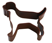 Mini Labrador Cookie Cutter 5cm - Brown
