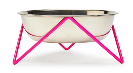 Bendo Woof - Dog Bowl - Pink