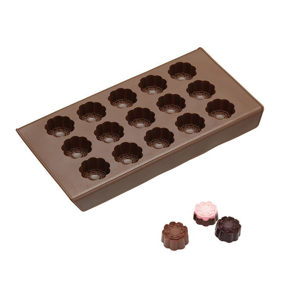 KitchenCraft Silicone Chocolate Mould Roses 22cm