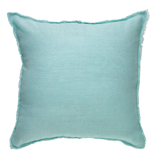 Ecology Opal Stonewash Linen Cushion