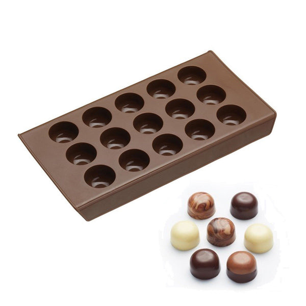 Kitchencraft Silicone Chocolate Drops Mould 22cm