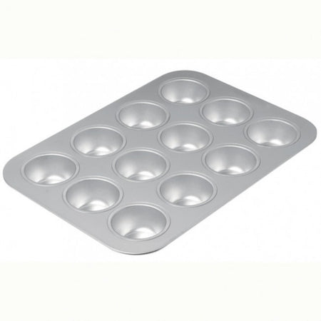 Chicago Metallic Commercial II Uncoated 12 Cup Muffin Pan