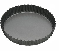 Mastercraft Heavy Base Loose Base Round Flan/Quiche Pan 23x3.5cm