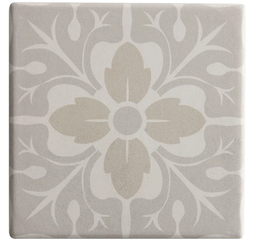 Maxwell & Williams Medina Ceramic Square Tile Coaster Asilah - 9cm