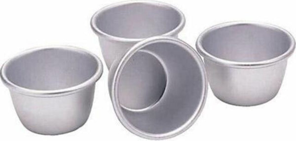 Kitchencraft Pudding Moulds Set of 4 150ml