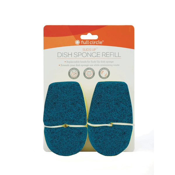 Full Circle Suds Up Dish Sponge Refill Green