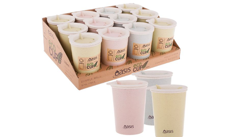 Oasis Double Wall Eco Cup 300ml Assorted