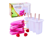 Appetito Classic Pop Mould Set of 4