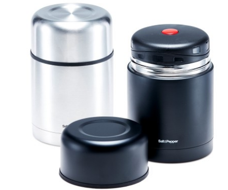 Salt & Pepper Matraz Food Flask 600ml - Assorted Colours
