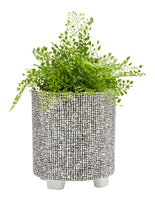 Salt & Pepper Raww Planter Thatch