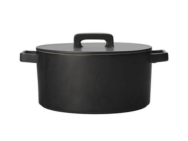 Maxwell & Williams Epicurious Round Casserole 1.3L - Black