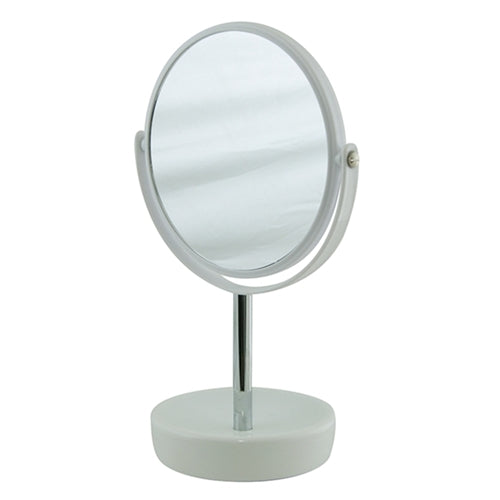 Salt & Pepper Suds Mirror Double Sided - White 30cm