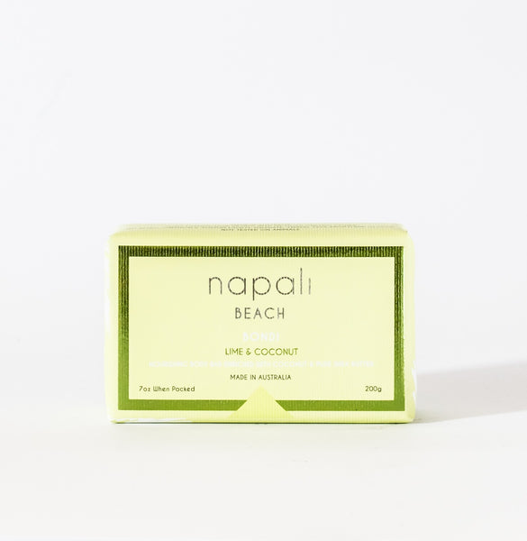 Napali Beach Bondi, Lime & Coconut Soap