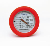 Cuisena  Silicone Meat Thermometer - Red