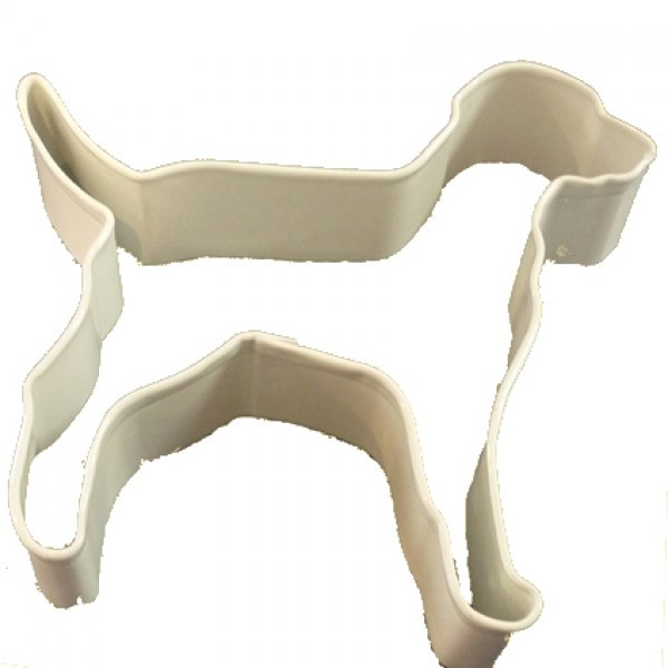 Cookie Cutter - Large Dog White