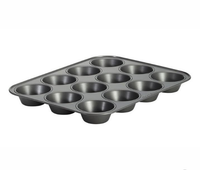Mastercraft Heavy Base 12 Cup Muffin/Cupcake Pan