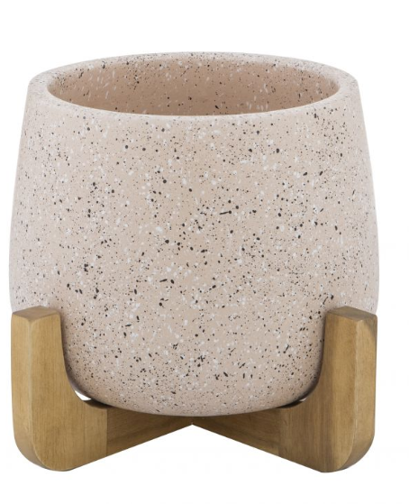 Anke Planter Pot on Stand 20X31cm