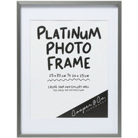 Cooper & Co Pewter Metal Frame 25X33cm to 20x25cm