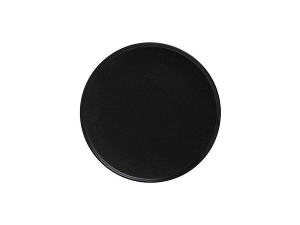 Maxwell & Williams Caviar Black High Rim Plate 21cm