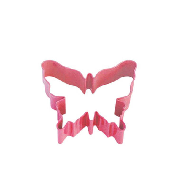 Cookie Cutter - Butterfly Pink - 8cm