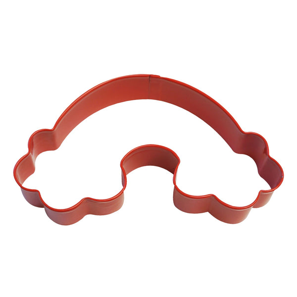 Cookie Cutter - Rainbow 12cm - Red