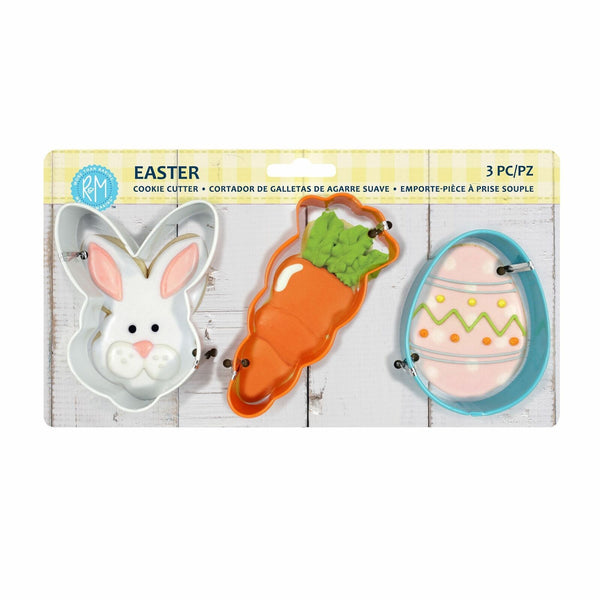Cookie Cutters - Easter Set of 3 - Bunny, Carrot, Egg