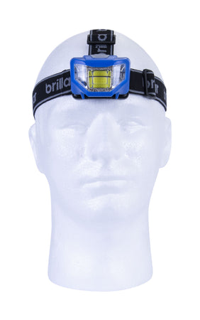 Brillar 5 Mode Headlamp Cob LED - Blue
