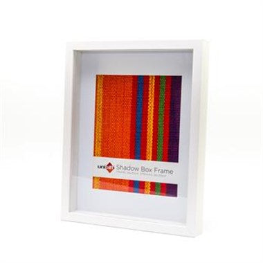 Shadow Box Frame - White - 20x25cm/8x10""