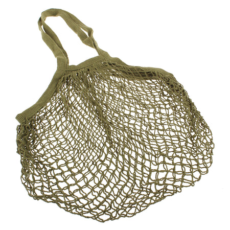 Sachi Cotton String Bag Long Handle - Avocado