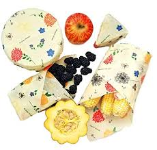 Buzzee Organic Beeswax Wraps Pack of 3 - 3 Assorted