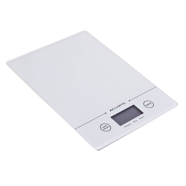 Acurite Slim Line Digital Scale 1g/5kg - White